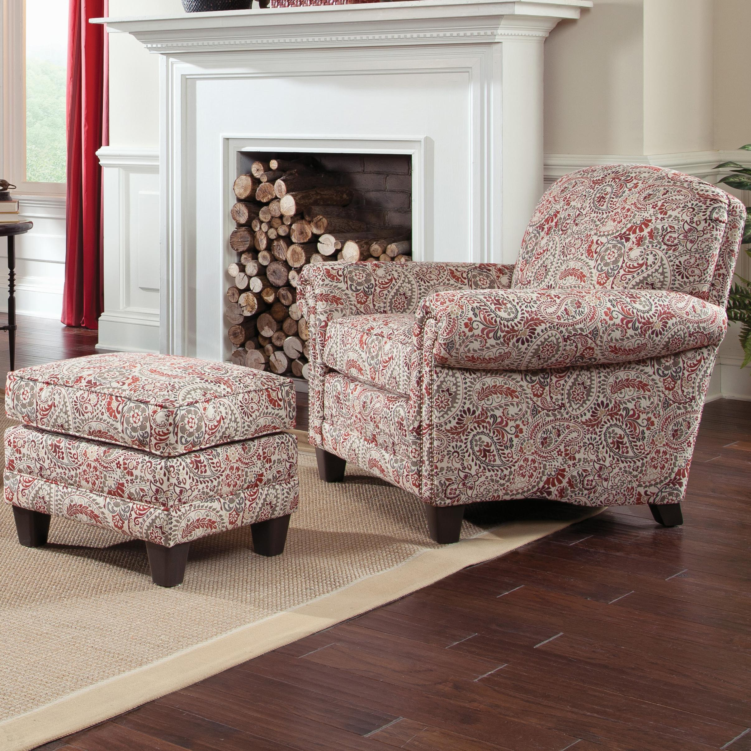 397 Chair and Ottman by Smith Brothers at Miller Home