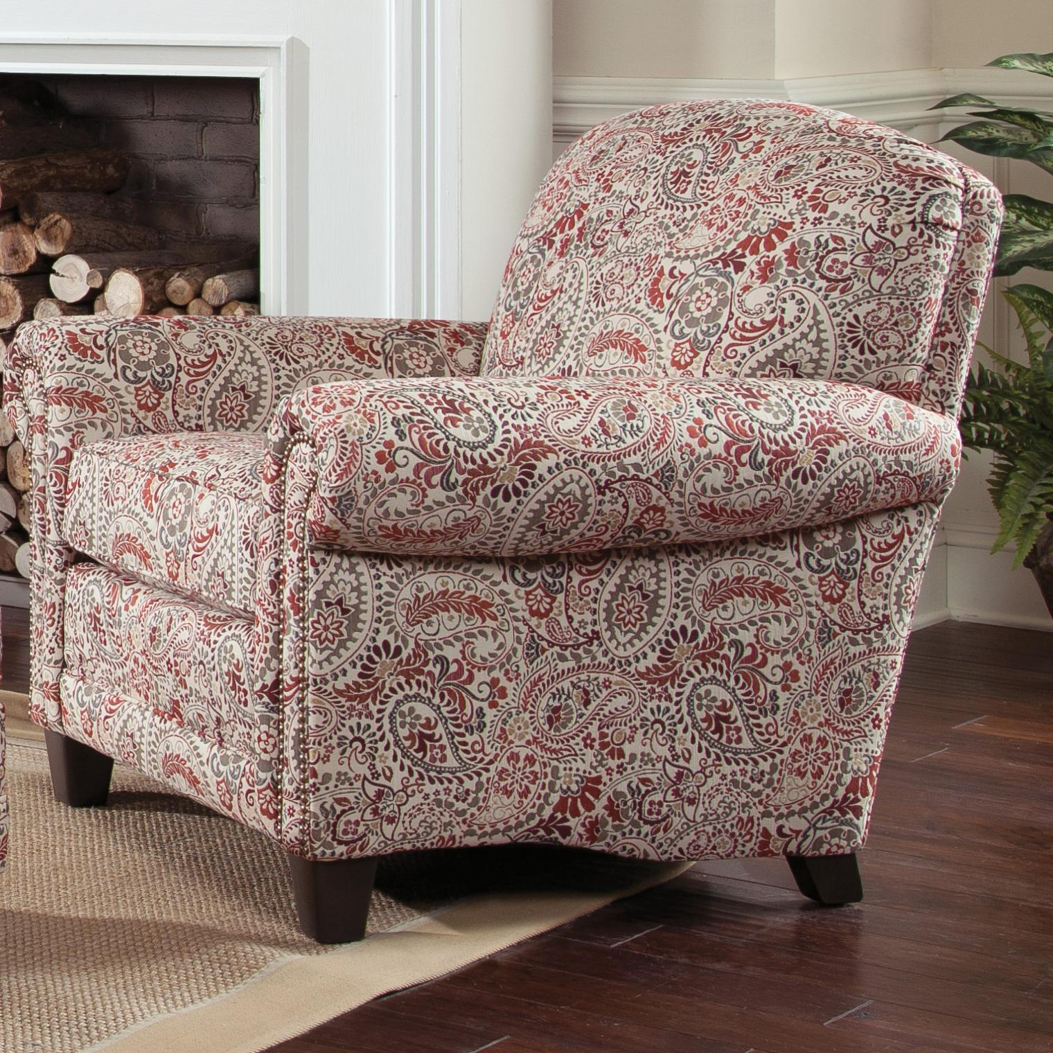 397 Upholstered Chair by Smith Brothers at Story & Lee Furniture