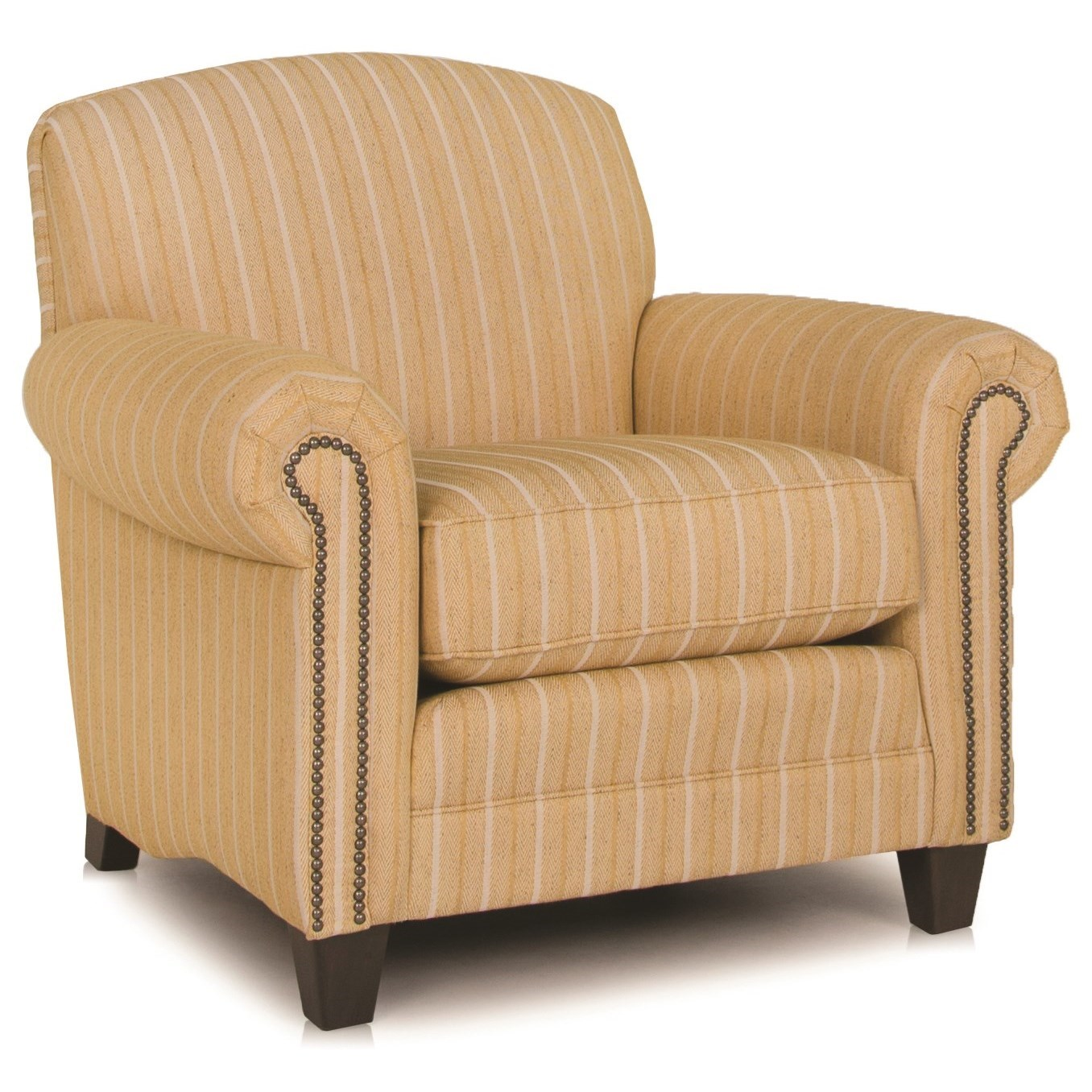 397 Upholstered Chair by Smith Brothers at Pilgrim Furniture City