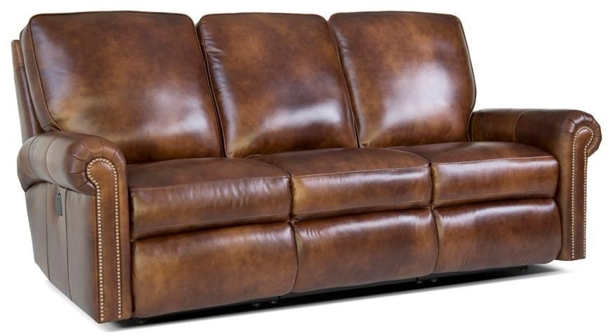 416 Reclining Sectional Sofa by Smith Brothers at Rooms and Rest