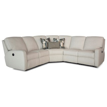 419 Power Reclining Sectional Sofa by Smith Brothers at Rooms for Less