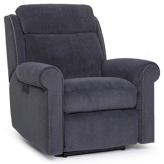 422 Power Recliner by Smith Brothers at Saugerties Furniture Mart