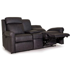 Power Reclining Sectional Loveseat