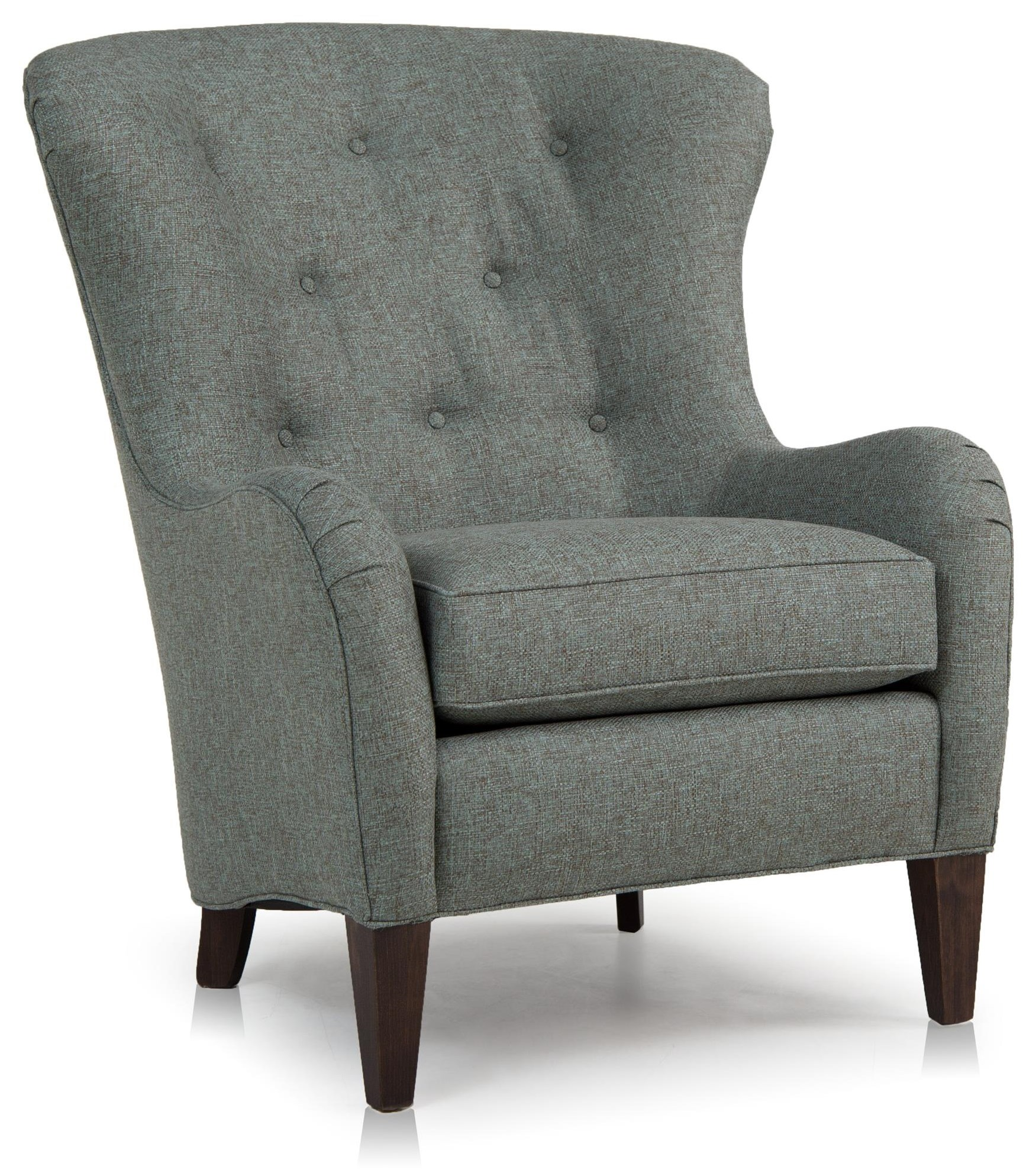 Bianco Wing Back Chair by Smith Brothers at Crowley Furniture & Mattress