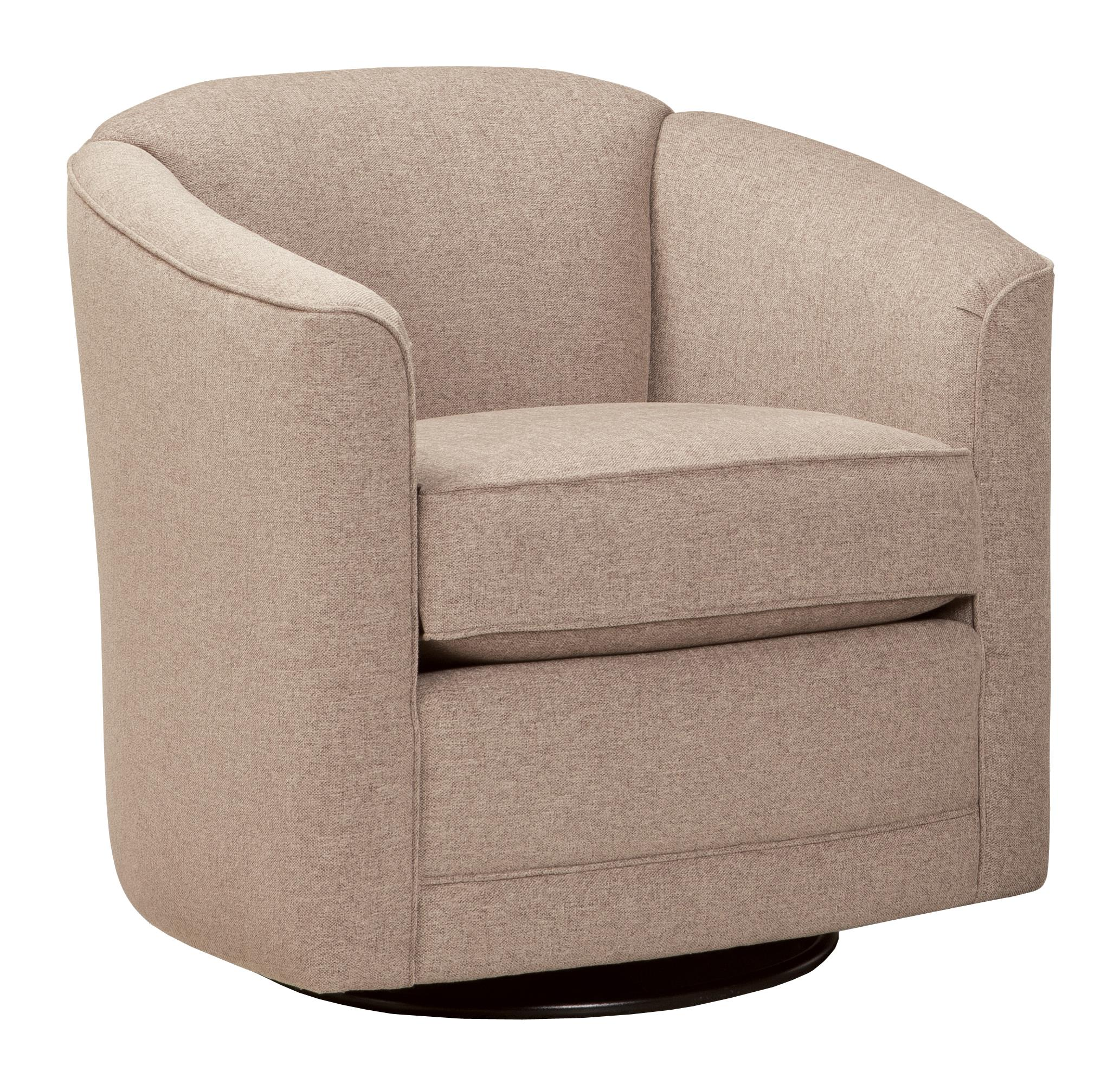 506 Swivel Glider Chair by Smith Brothers at Mueller Furniture
