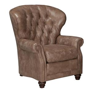 Pressback Recliner with Tufted Seat Back