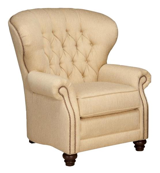 522 Motorized Reclining Chair by Smith Brothers at Mueller Furniture