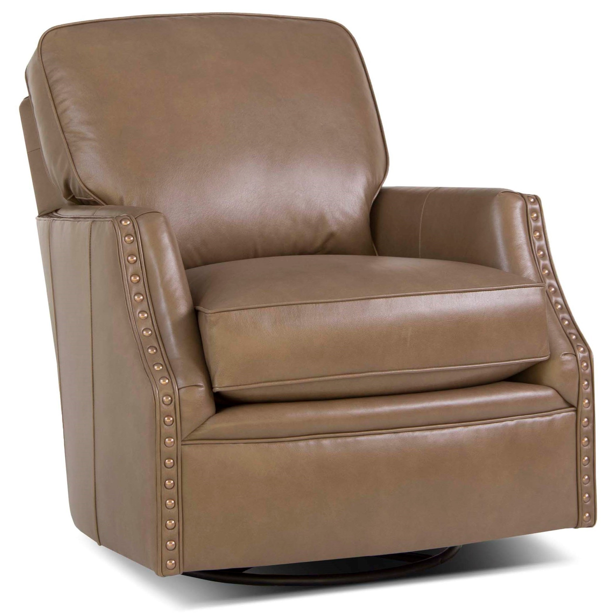 526 Swivel Glider Chair by Smith Brothers at Miller Home