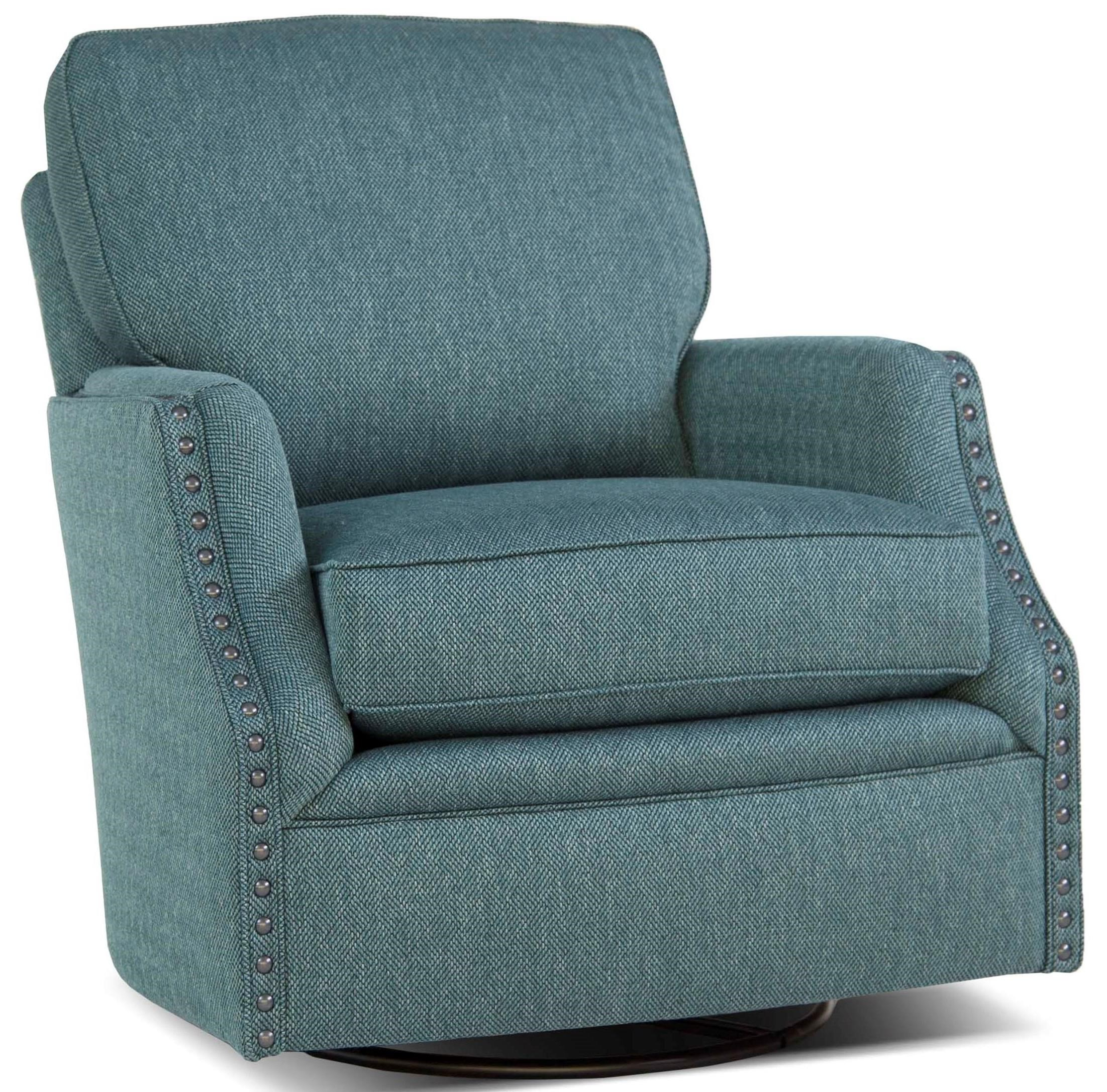 526 Swivel Glider Chair by Smith Brothers at Sprintz Furniture