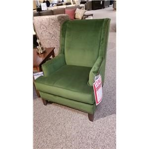 Traditional Chair with Tapered Arms and Nailhead Trim