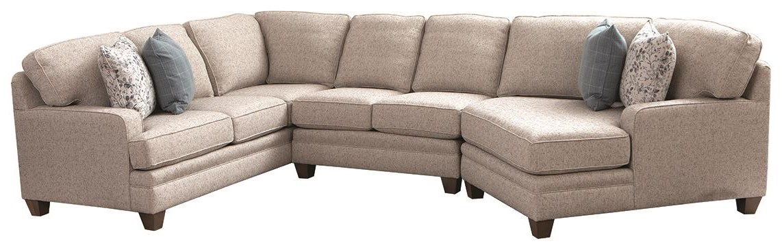 534 3 Piece Sectional by Smith Brothers at Darvin Furniture