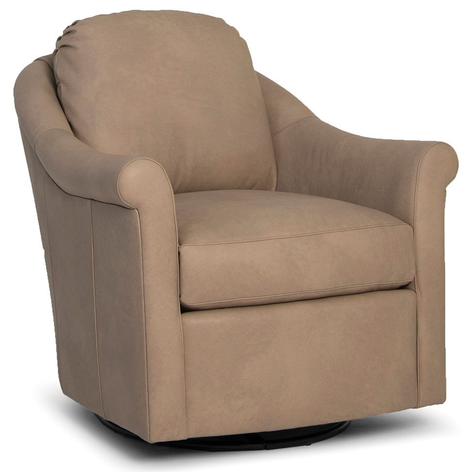 534 Upholstered Swivel Glider Chair by Smith Brothers at Miller Home