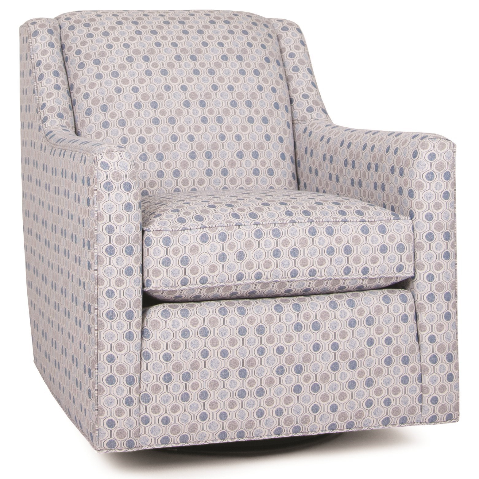 549 Swivel Glider Chair by Smith Brothers at Coconis Furniture & Mattress 1st