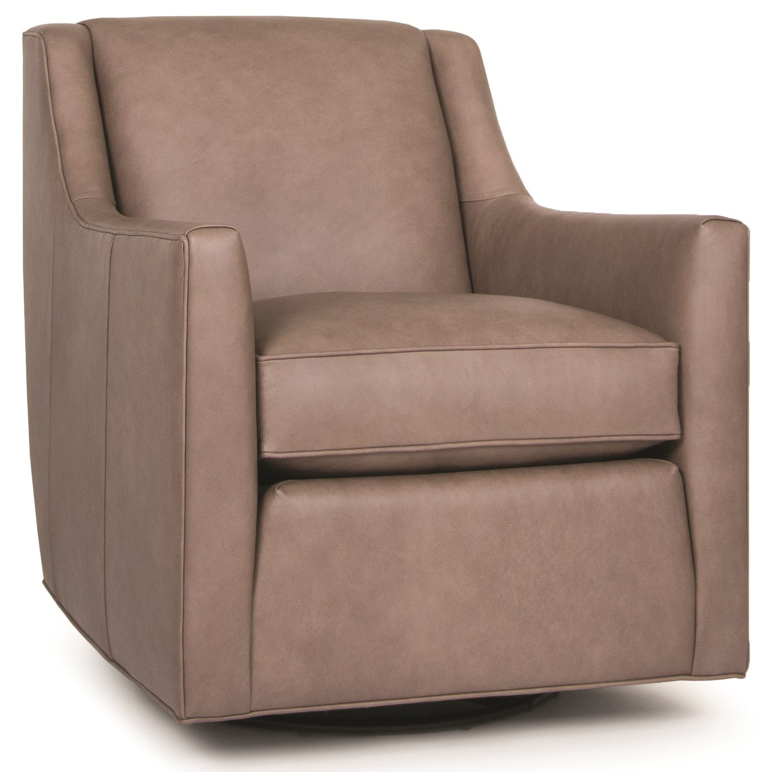 549 Swivel Glider Chair by Smith Brothers at Miller Home