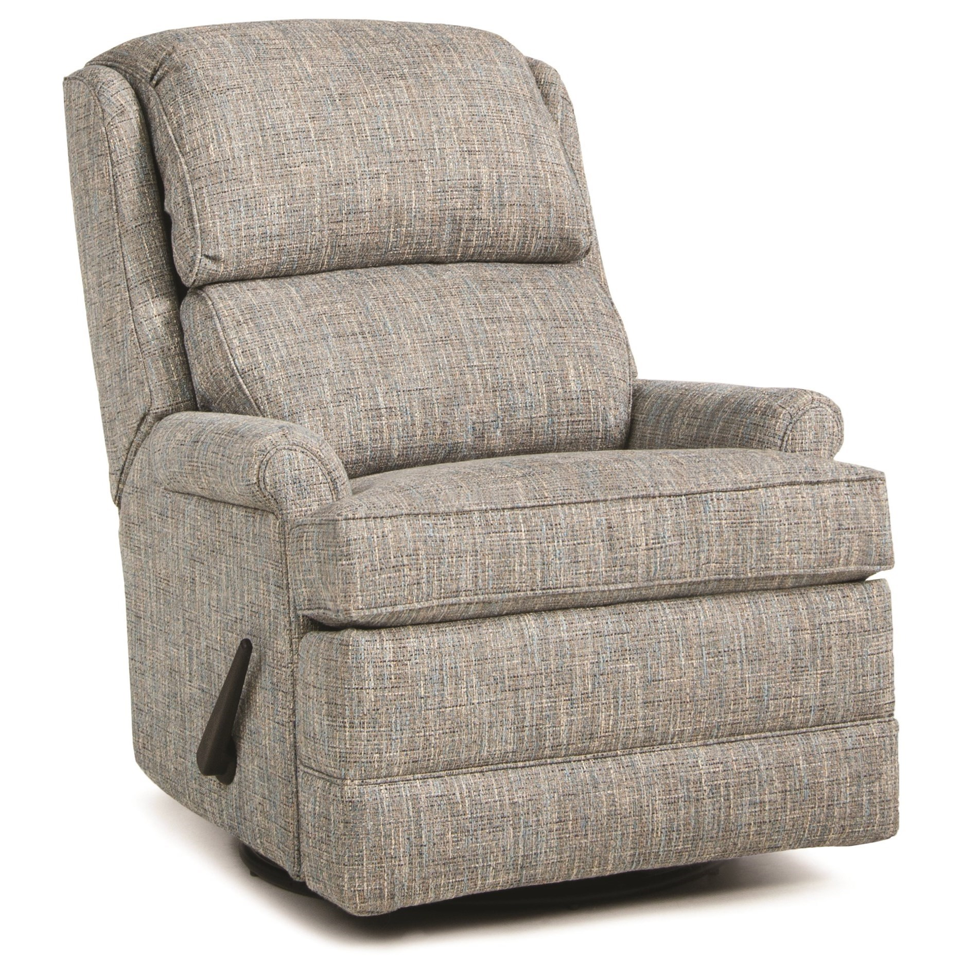 707 Swivel Glider Recliner by Smith Brothers at Pilgrim Furniture City