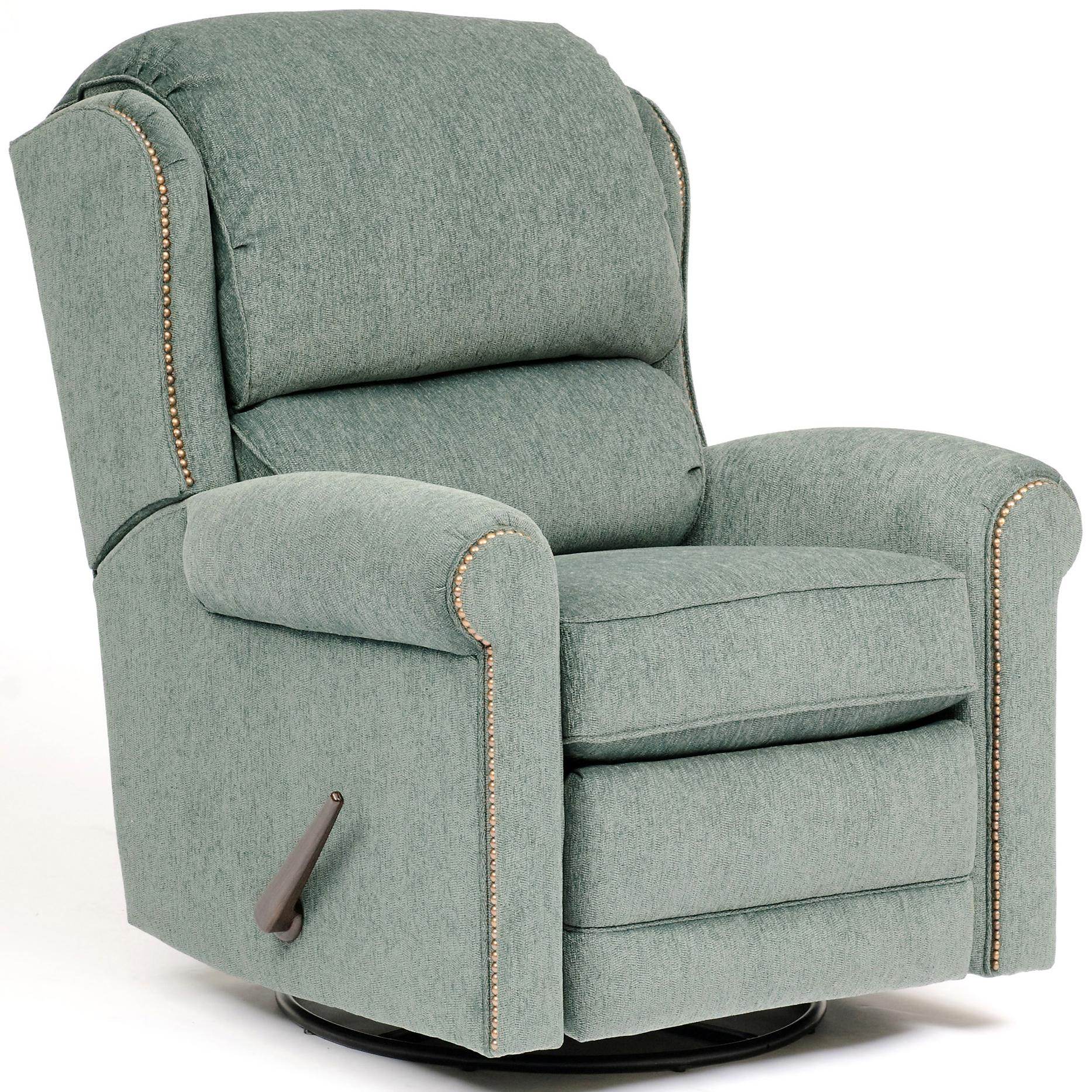 720 Casual Recliner by Smith Brothers at Saugerties Furniture Mart