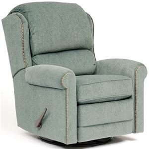 Casual Fabric Motorized Reclining Chair