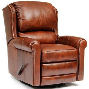 Casual Leather Motorized Reclining Chair