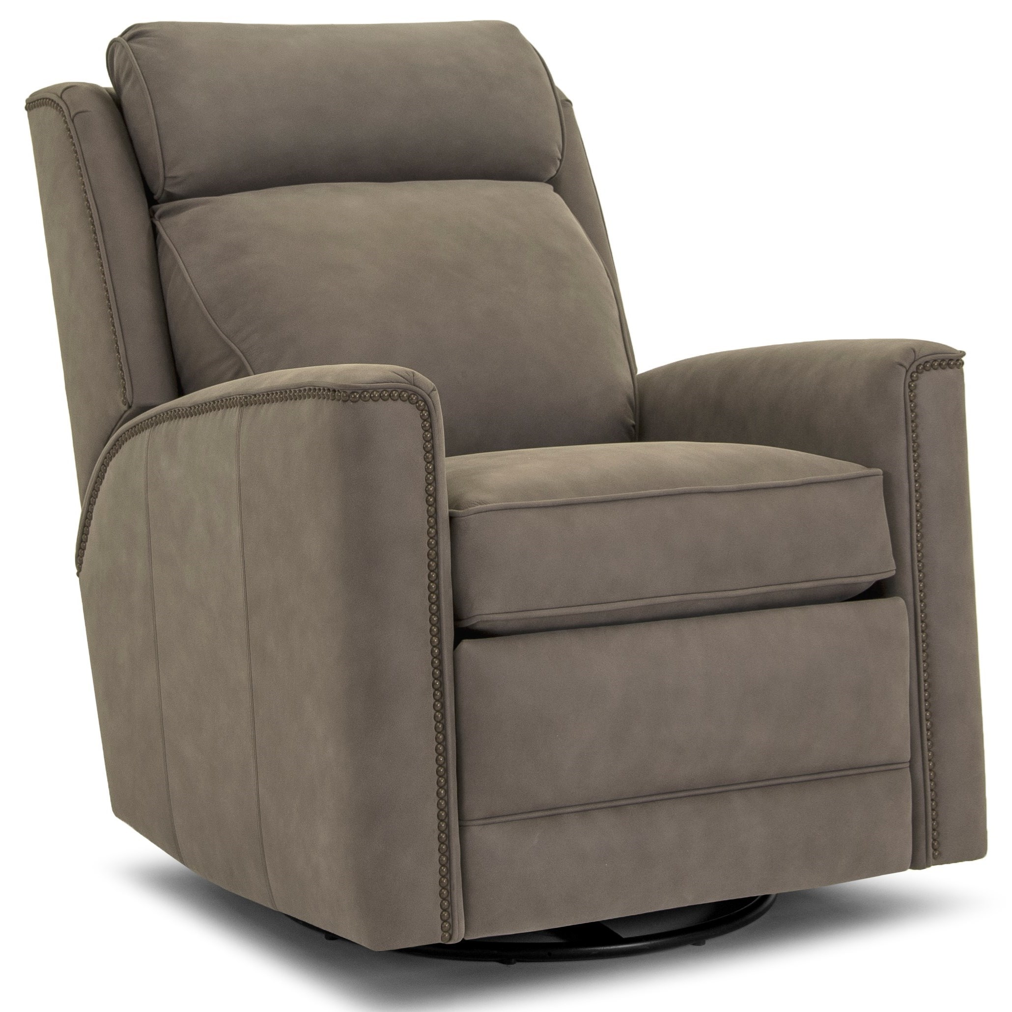 736 Power Swivel Glider Recliner by Smith Brothers at Pilgrim Furniture City