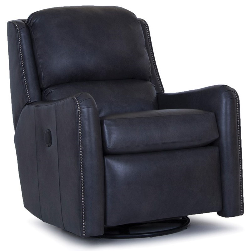 746 Power Swivel Glider Recliner by Smith Brothers at Saugerties Furniture Mart