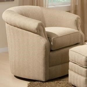 820 Swivel Chair by Smith Brothers at Gill Brothers Furniture