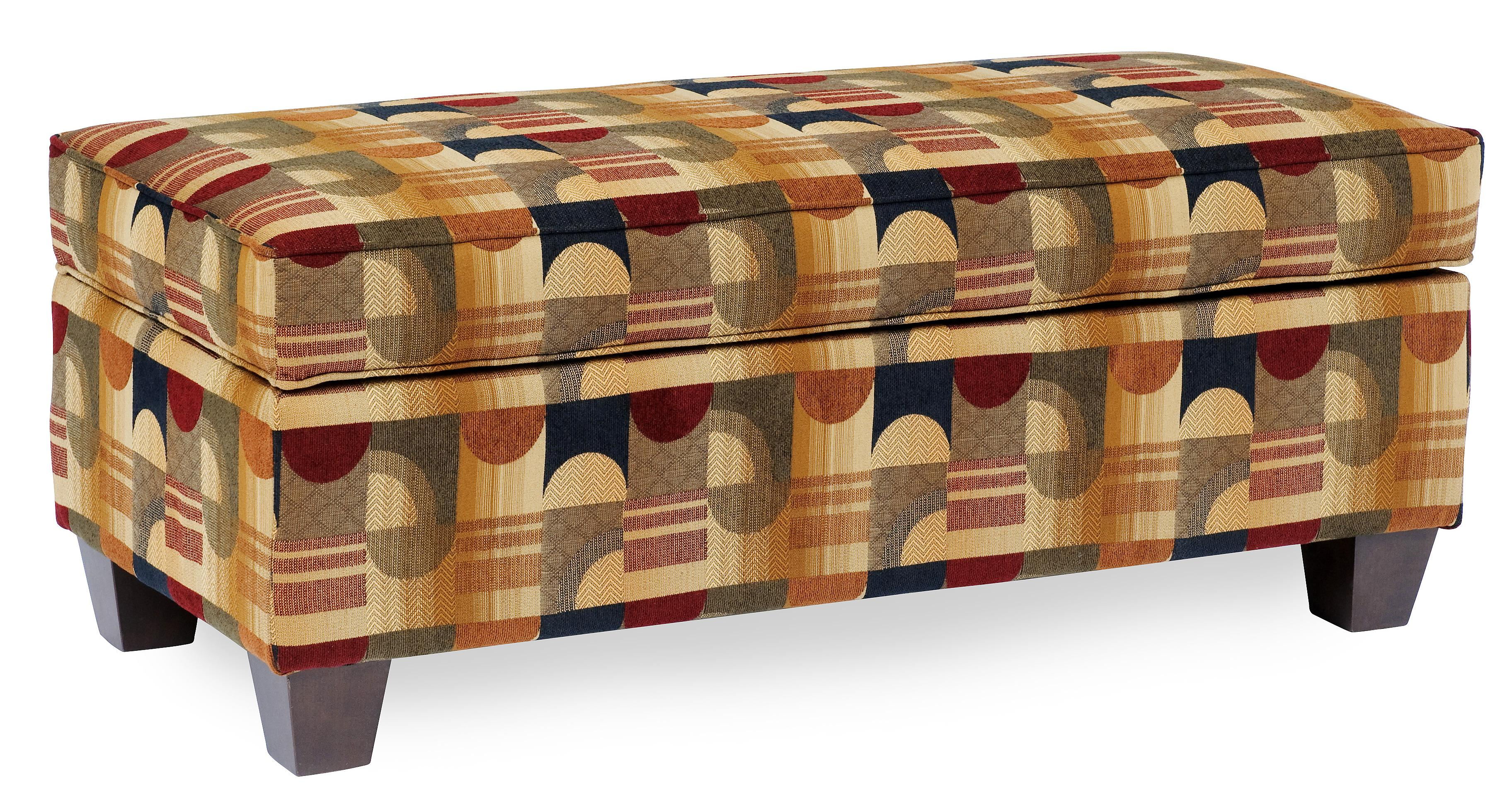 901 Ottoman by Smith Brothers at Mueller Furniture