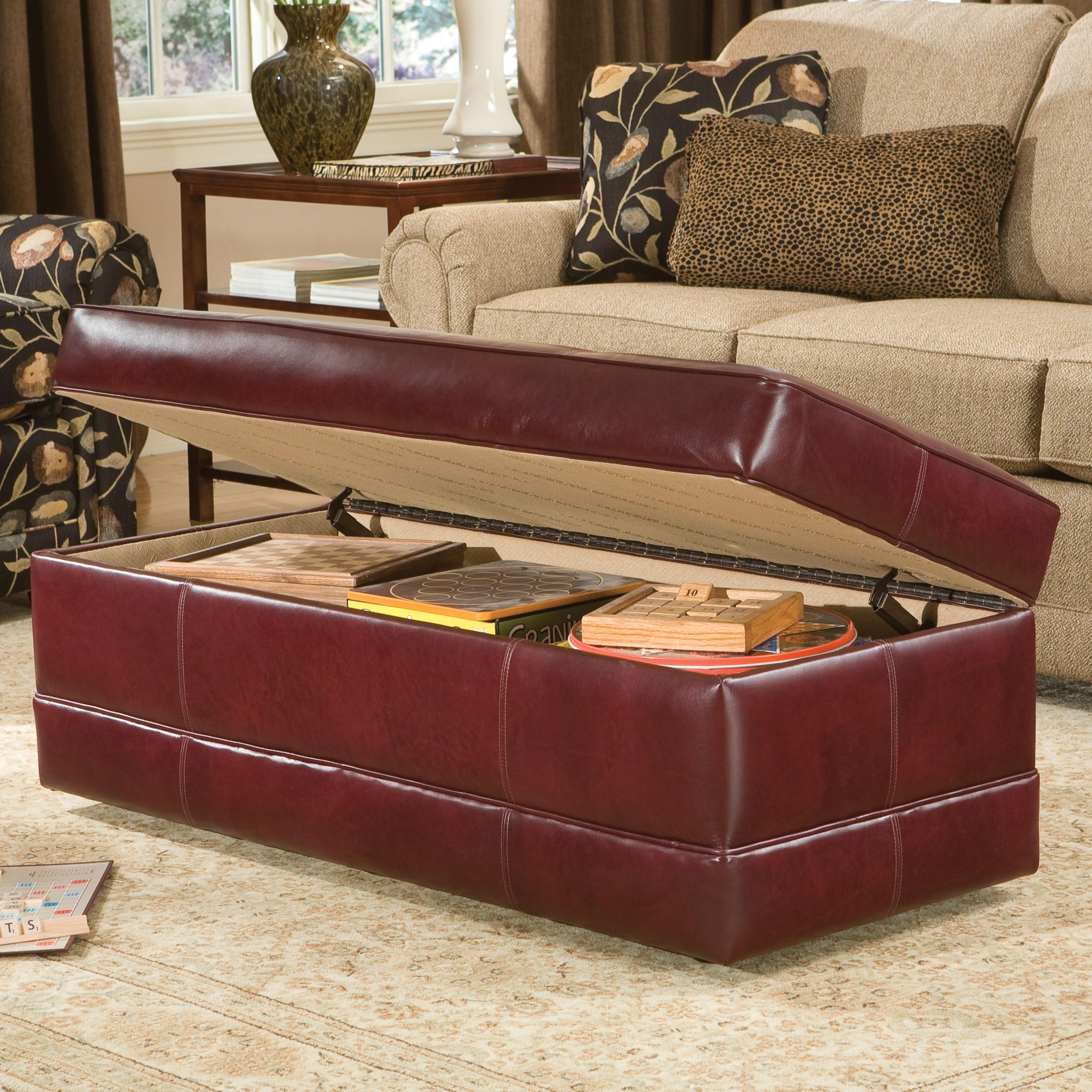 901 Ottoman by Smith Brothers at Pilgrim Furniture City