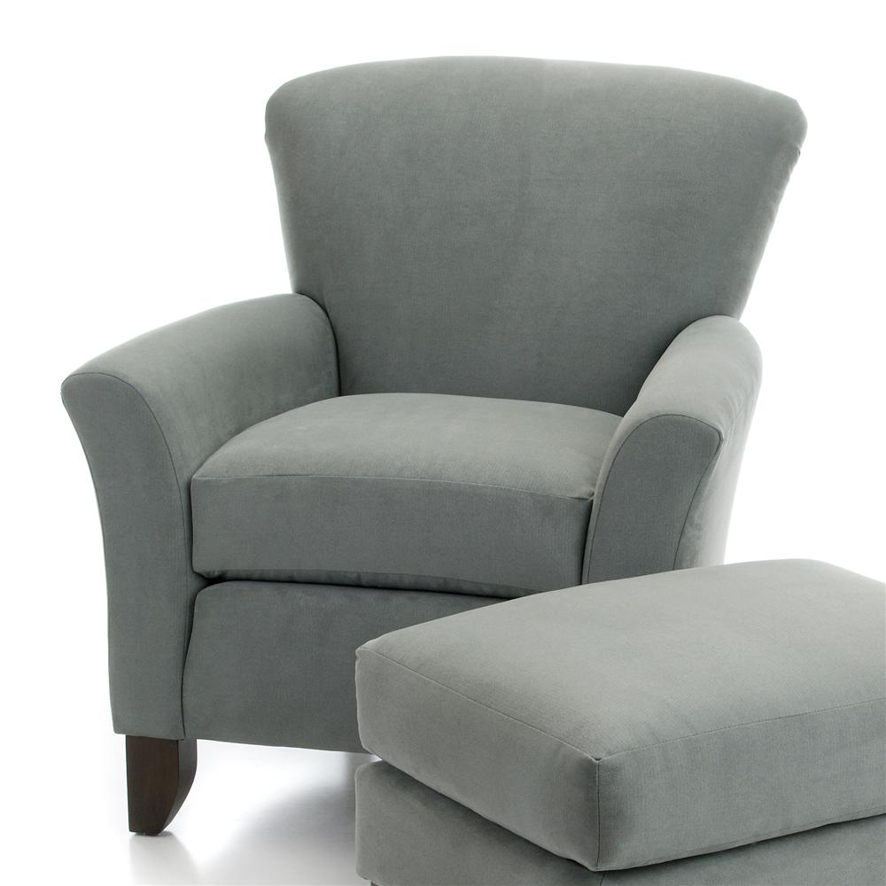 919 Upholstered Chair by Smith Brothers at Westrich Furniture & Appliances