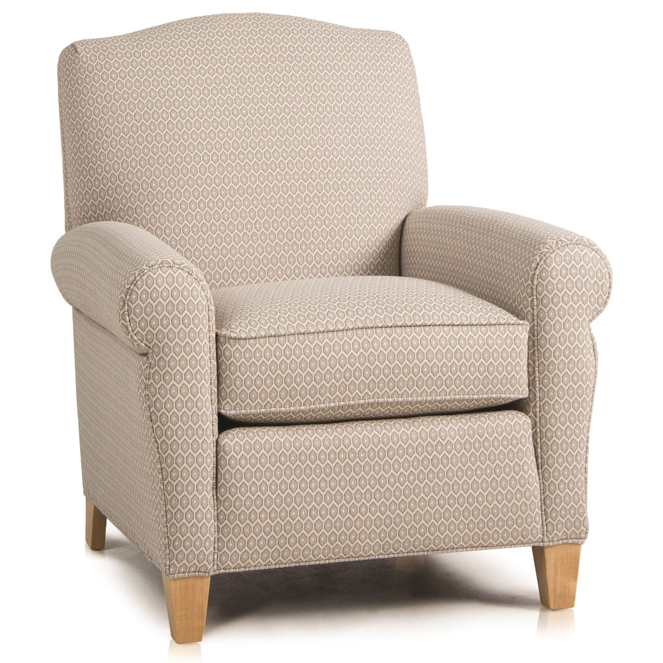 933 Upholstered Chair by Smith Brothers at Mueller Furniture
