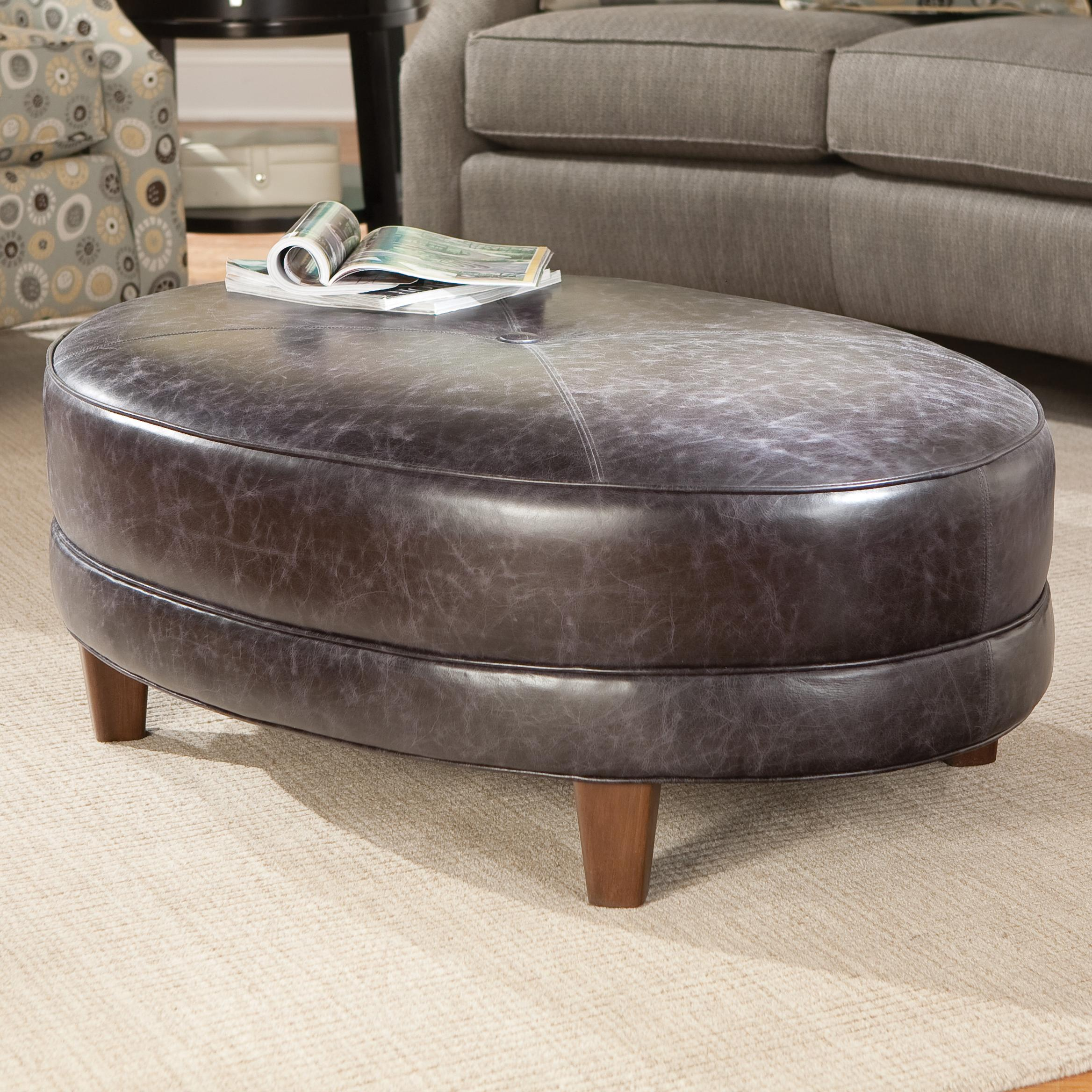 940 Cocktail Ottoman by Smith Brothers at Saugerties Furniture Mart