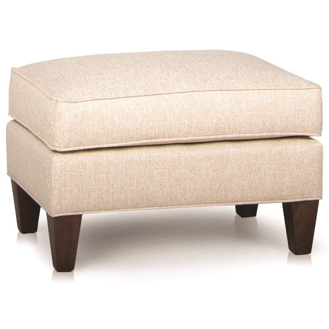 944 Upholstered Ottoman by Smith Brothers at Mueller Furniture