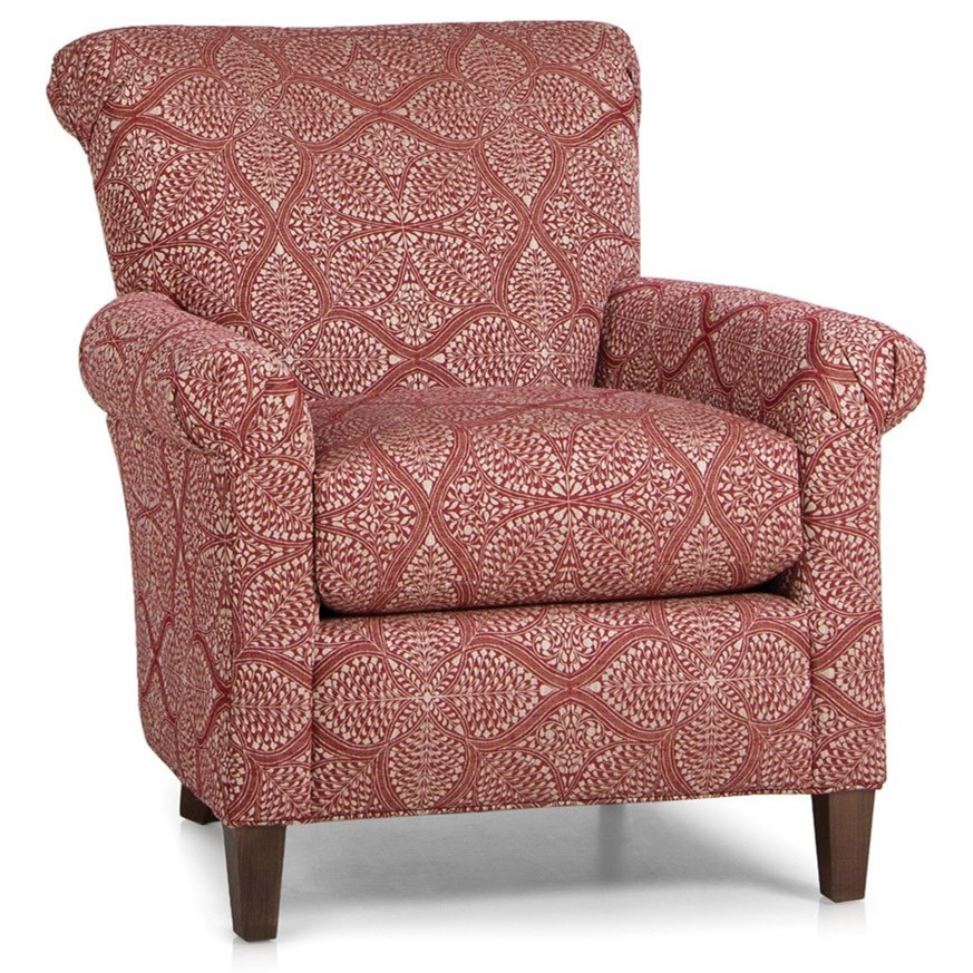 961 Upholstered Chair by Smith Brothers at Mueller Furniture