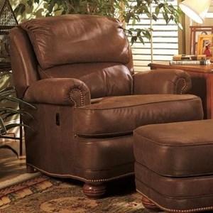Tilt-Back Reclining Upholstered Chair