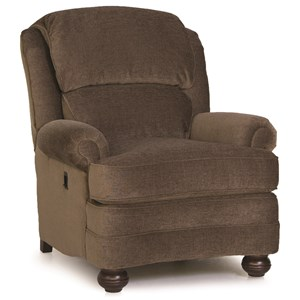 Tilt-Back Reclining Upholstered Chair