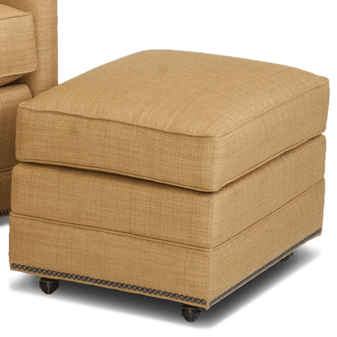Accent Chairs and Ottomans SB Ottoman by Smith Brothers at Mueller Furniture