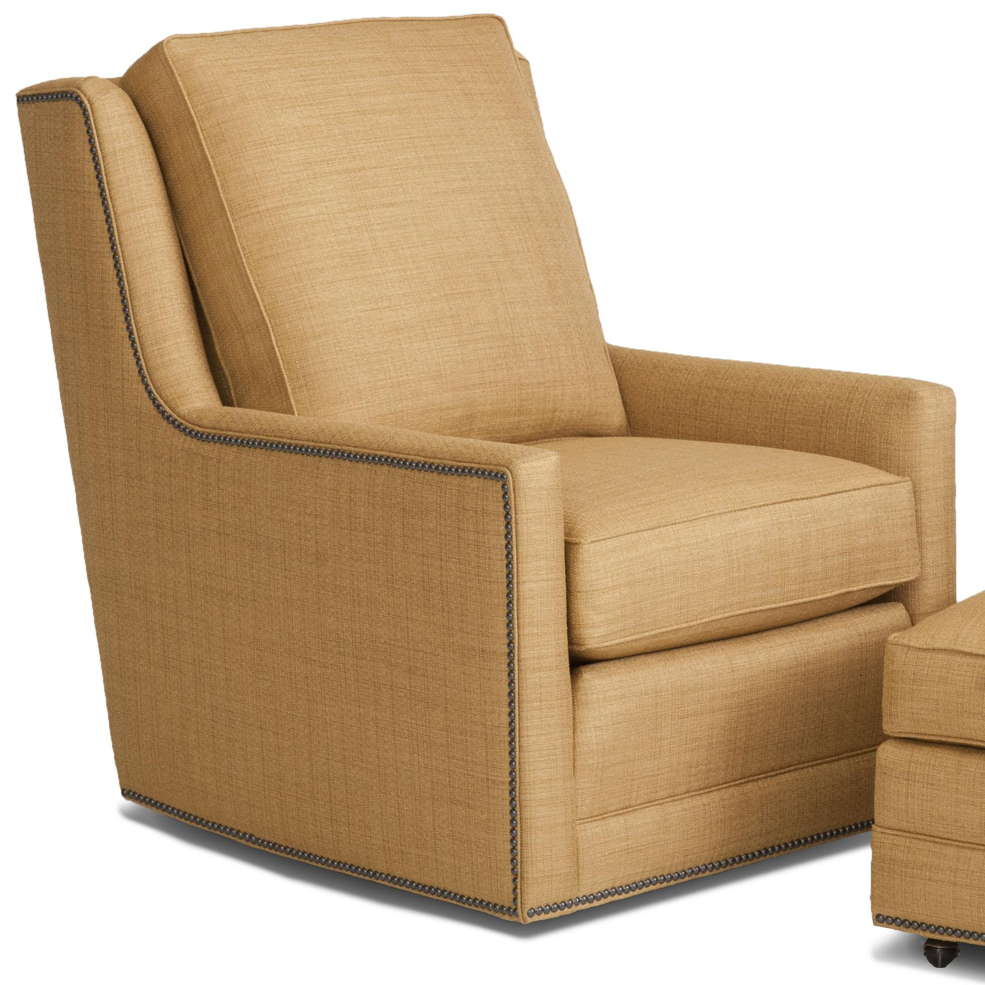 Accent Chairs and Ottomans SB Swivel Chair by Smith Brothers at O'Dunk & O'Bright Furniture