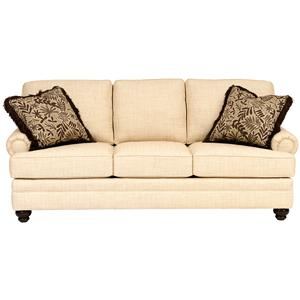 Sofa with Turned Legs
