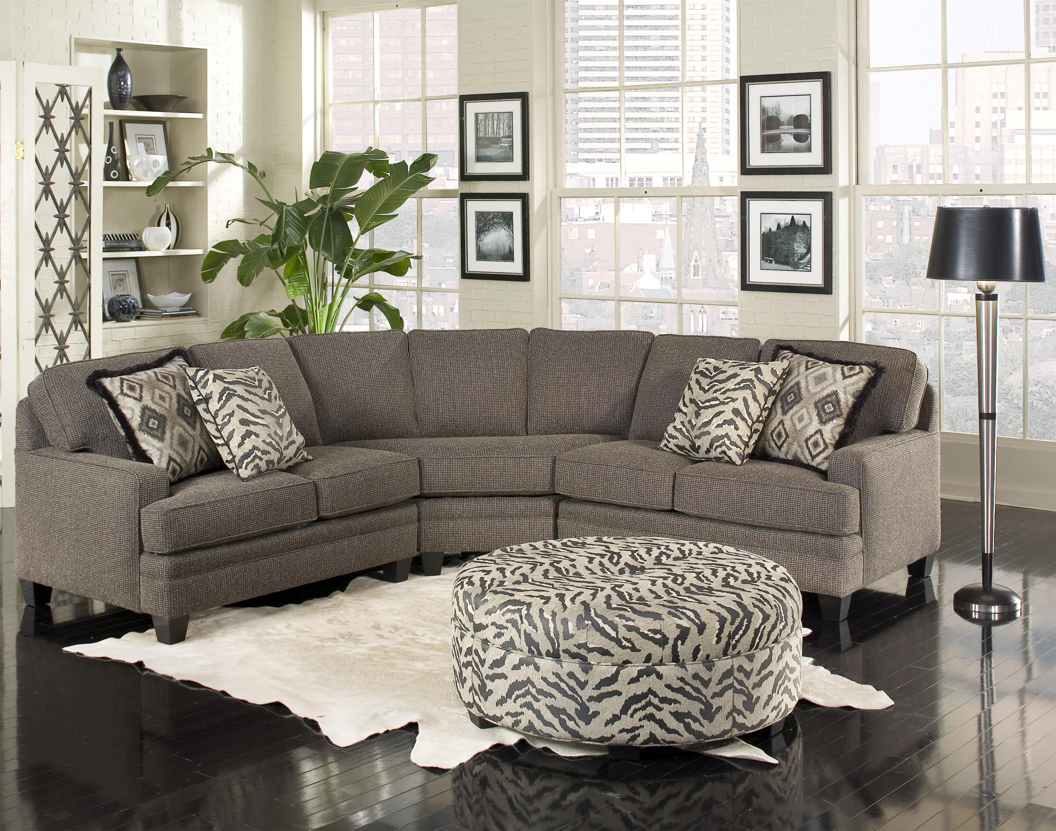 Build Your Own 5000 Series Customizable Sectional by Smith Brothers at Saugerties Furniture Mart