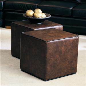 Rectangular Ottoman with No Feet