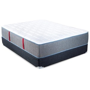 King Firm Pocketed Coil Mattress and Extra Sturdy Foundation