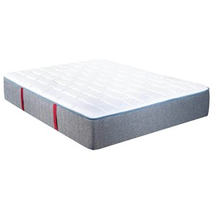 Queen Firm Pocketed Coil Mattress and Prodigy Lumbar Adjustable Base