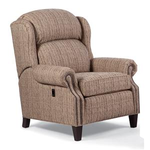Big/Tall Motorized Reclining Chair with Nailhead Trim