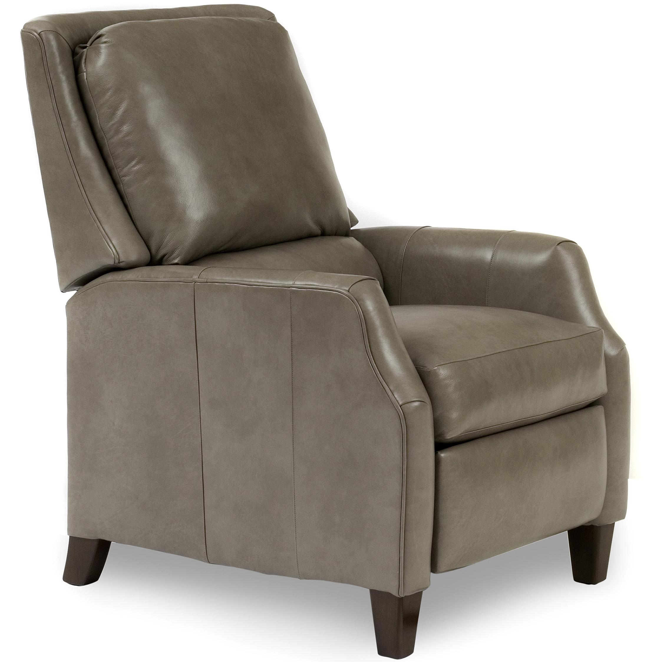 Recliners  High Leg Motorized Recliner by Smith Brothers at Saugerties Furniture Mart