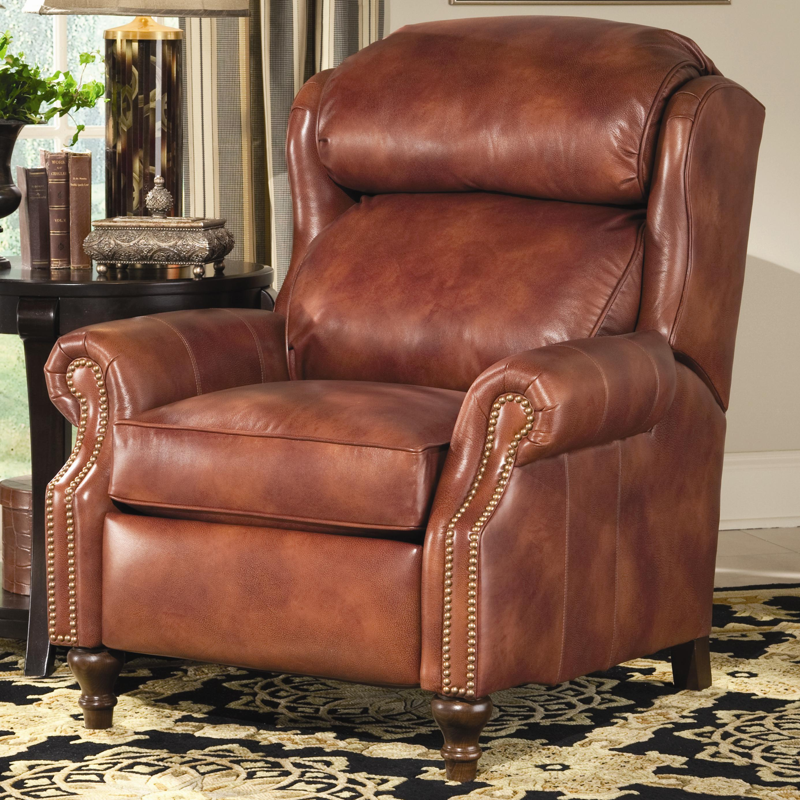 Recliners  Big/Tall Motorized Recliner by Smith Brothers at Saugerties Furniture Mart