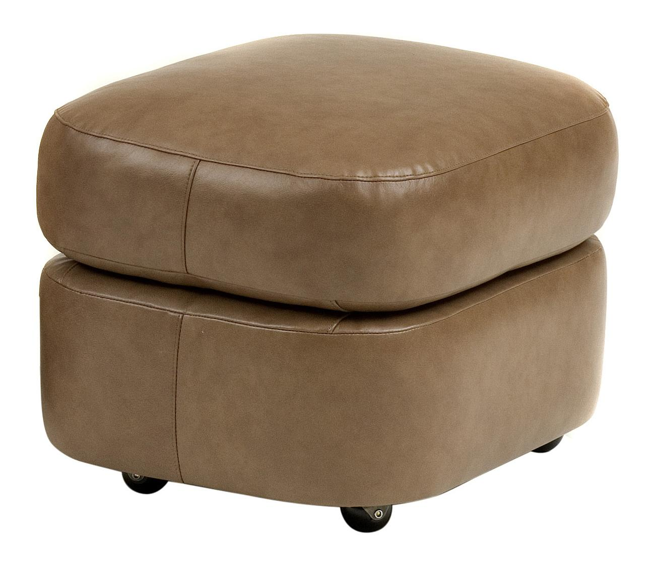 Smith Brothers Contemporary Ottoman by Smith Brothers at Mueller Furniture