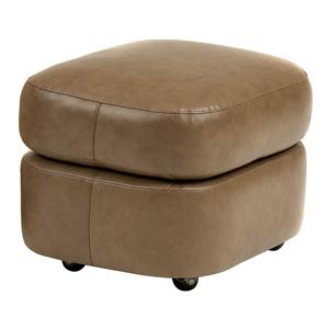 Contemporary Ottoman with Casters