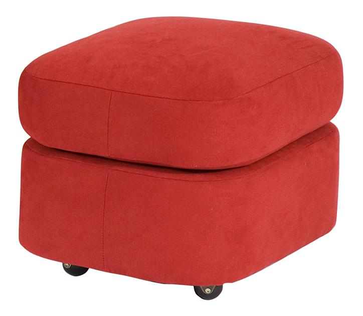 Smith Brothers Contemporary Ottoman by Smith Brothers at Saugerties Furniture Mart