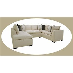 3 pc Sectional with LAF Chaise