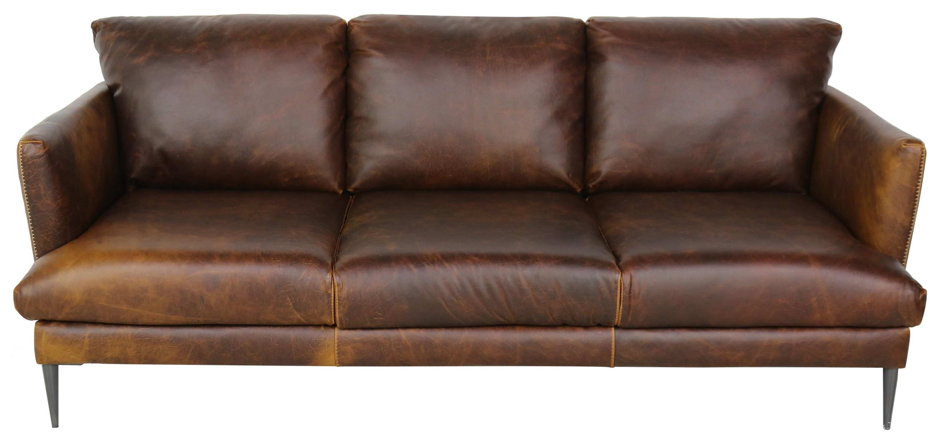Gio Collection Italian Leather Sofa by Giovanni Leather at Sprintz Furniture