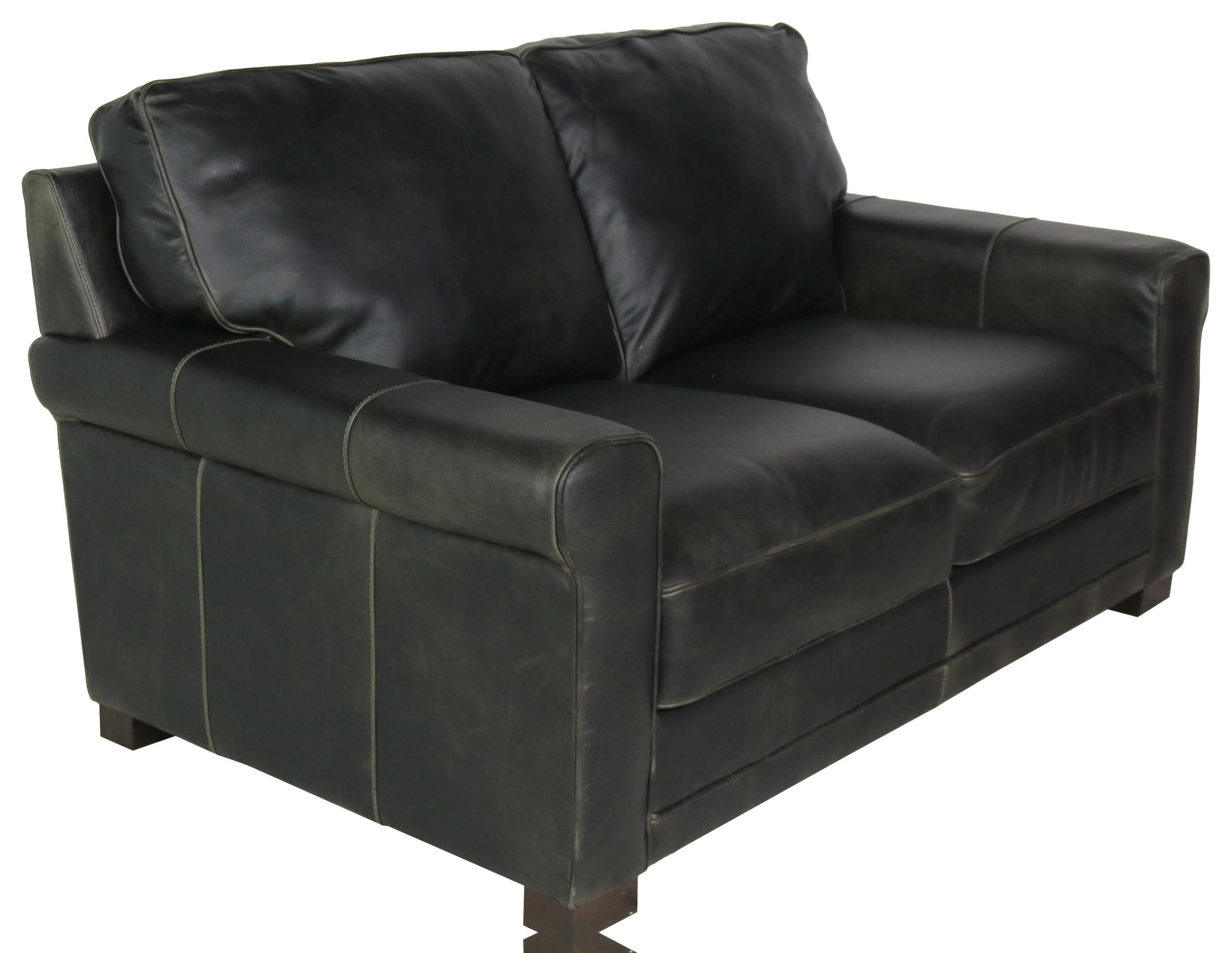 Gio Collection Italian Leather Loveseat by Giovanni Leather at Sprintz Furniture